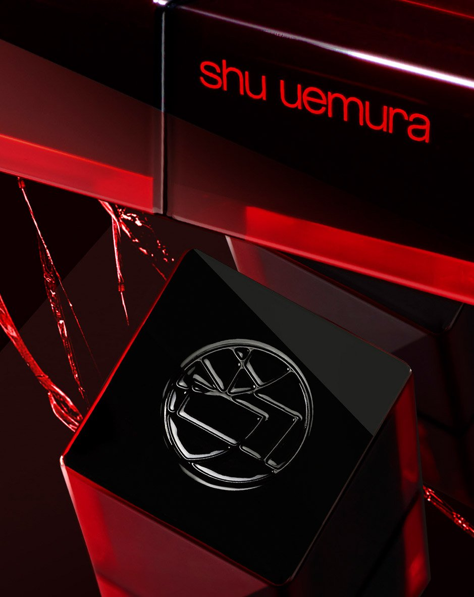 sealed with the shu uemura monogram